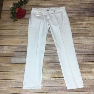 7 for All Mankind High Rise white  jeans -Size: 29